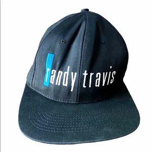 Vintage Randy Travis Snapback Cap